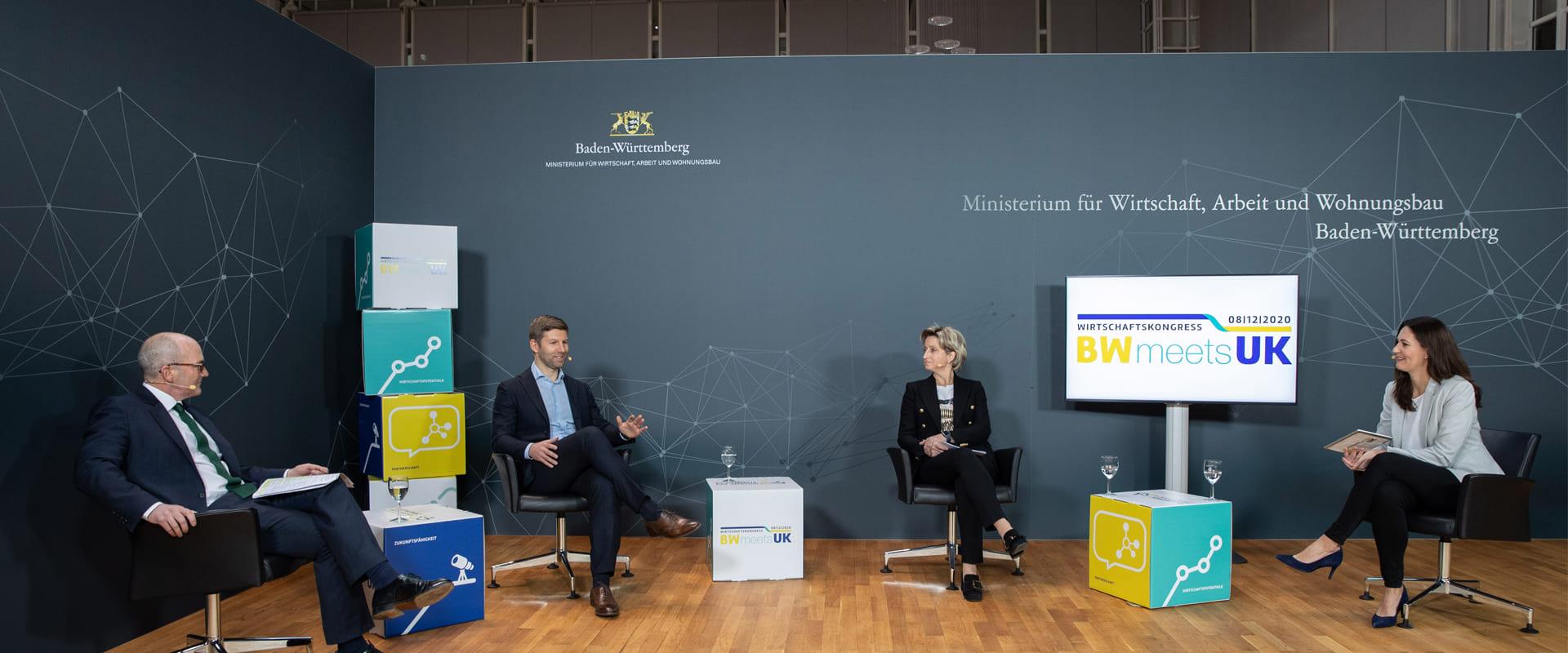 Livestream Wirtschaftskongress BWmeetsUK